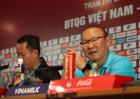 HLV Park Hang Seo: Tôi không hài lòng về kết quả, tôi chuẩn bị để thắng trận - Ảnh 1.