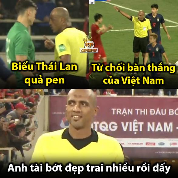 Dân mạng chế ảnh Văn Lâm, Văn Hậu cản bóng xuất thần - Ảnh 6.