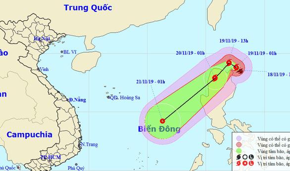Miền Bắc mưa rét, bão Kalmaegi suy yếu khi vào Biển Đông - Ảnh 1.