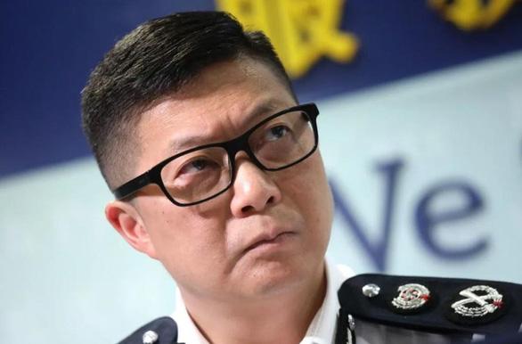 Cảnh sát Hong Kong có lãnh đạo mới dày dạn kinh nghiệm - Ảnh 1.