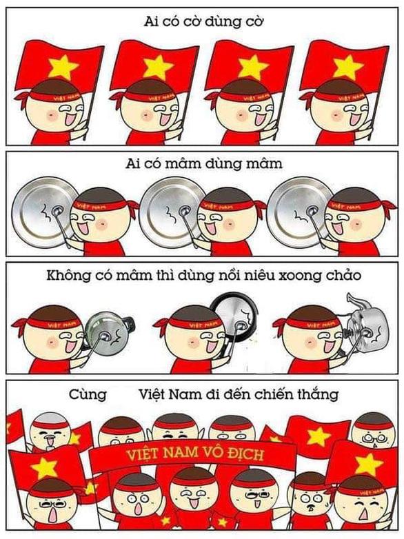 Dân mạng chế ảnh Văn Lâm, Văn Hậu cản bóng xuất thần - Ảnh 7.