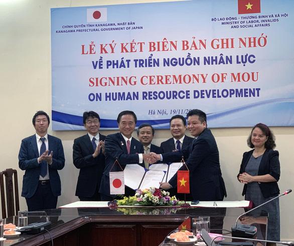 Tỉnh Kanagawa muốn tiếp nhận nhiều lao động Việt Nam - Ảnh 1.