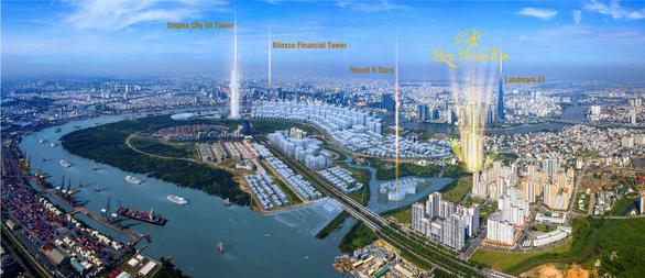 Ra mắt tòa tháp đẹp nhất dự án Paris Hoàng Kim - Ảnh 1.