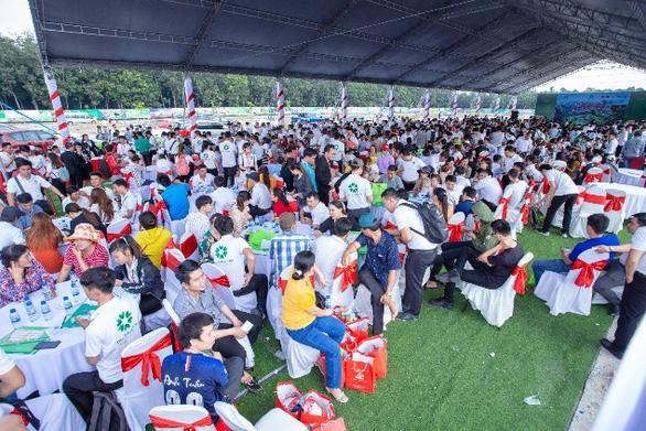 Hơn 1.000 khách hàng tham dự lễ khởi công công viên Eden Park - Ảnh 1.
