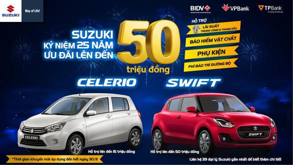 Suzuki ưu đãi lớn lên đến 50 triệu, cơ hội sở hữu ôtô trước Tết - Ảnh 1.