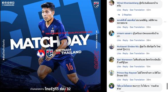 CĐV Thái Lan: Chúng ta có 3 điểm trước Việt Nam là cái chắc - Ảnh 1.