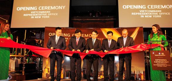 Ngân hàng Vietcombank khai trương văn phòng đại diện tại Mỹ - Ảnh 1.