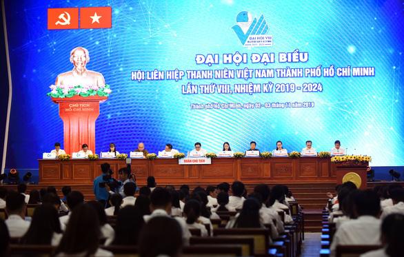Khai mạc Đại hội Hội Liên hiệp thanh niên Việt Nam TP.HCM lần thứ VIII - Ảnh 4.
