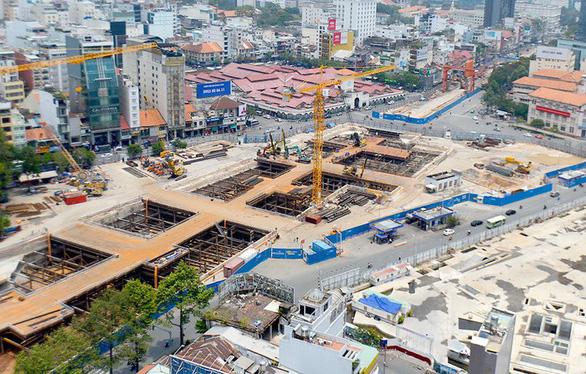 Metro Bến Thành - Tham Lương hoàn thành giải phóng mặt bằng vào 6-2020 - Ảnh 1.
