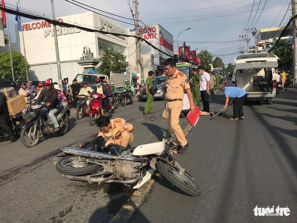 Phó viện trưởng Viện KSND Q.9 (TP.HCM) qua đời vì tai nạn giao thông - Ảnh 1.