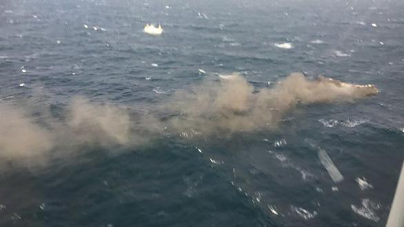 Yêu cầu báo cáo vụ 6 thuyền viên Việt Nam mất tích do tàu cháy ở Hàn Quốc - Ảnh 1.