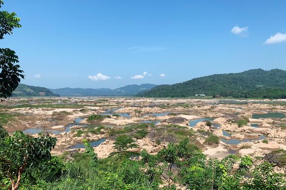 Sông Mekong sẽ cạn nước nghiêm trọng trong tháng sau - Ảnh 1.