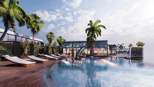 Không gian nghỉ dưỡng của tổ hợp Wellness & Fresh resort - Ảnh 8.