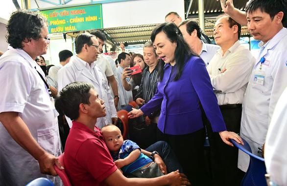 Bộ trưởng Bộ Y tế Nguyễn Thị Kim Tiến: Tôi cảm ơn những lời chỉ trích - Ảnh 3.
