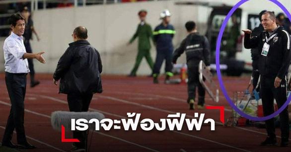 Trợ lý HLV tuyển Thái Lan khiếm nhã: ông Park nổi xung thiên, còn VFF kiện tới - Ảnh 1.