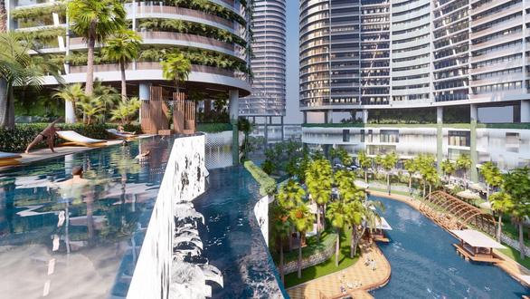 Khu giải trí và ẩm thực rộng gần 10.000m2 trong tổ hợp Wellness & Fresh resort - Ảnh 2.