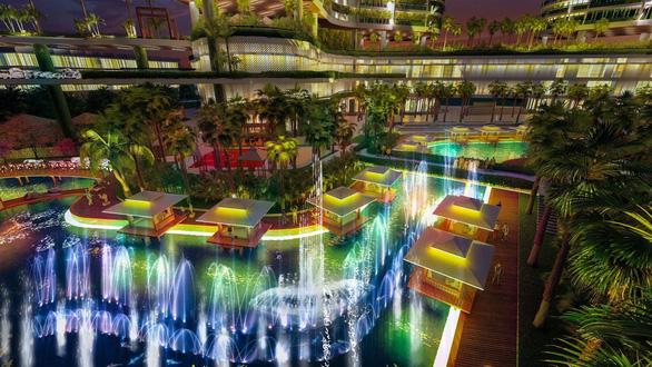 Khu giải trí và ẩm thực rộng gần 10.000m2 trong tổ hợp Wellness & Fresh resort - Ảnh 7.