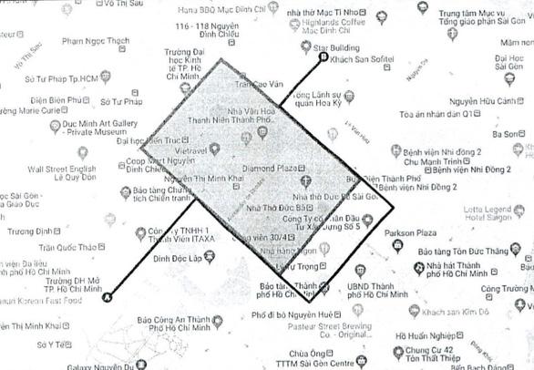 TP.HCM cấm xe ra vào nhiều tuyến đường trung tâm TP cuối tuần này - Ảnh 1.