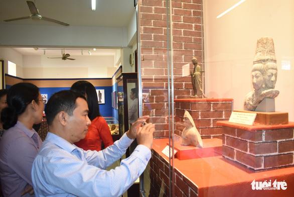 Trưng bày bảo vật quốc gia tại triển lãm Hội ngộ di sản văn hóa 3 miền - Ảnh 2.