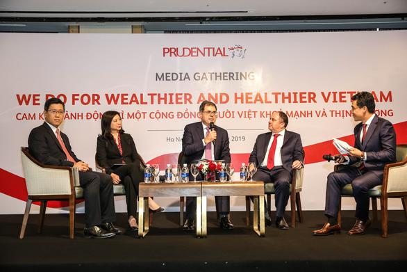 Prudential: Vì cộng đồng người Việt khỏe mạnh và thịnh vượng - Ảnh 1.