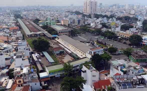 Ga Sài Gòn kết nối với metro số 2 Bến Thành - Tham Lương - Ảnh 1.