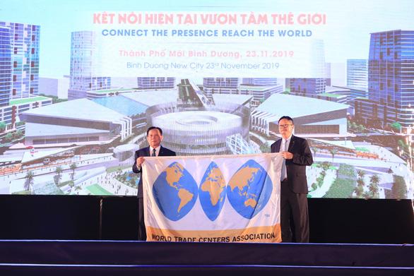 Bình Dương có Trung tâm thương mại thế giới kết nối với metro TP.HCM - Ảnh 1.