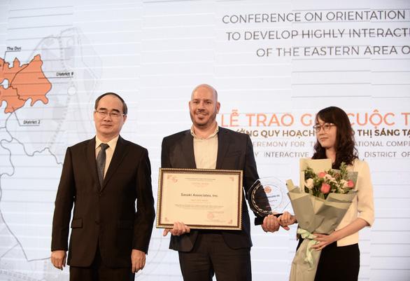 Đội Sasaki-encity đoạt giải nhất về quy hoạch khu đô thị sáng tạo - Ảnh 1.