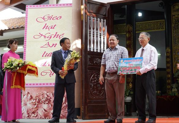 Long trọng tổ chức lễ giỗ lần thứ 90 cụ phó bảng Nguyễn Sinh Sắc - Ảnh 2.