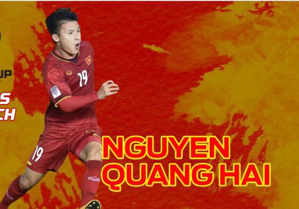 Fox Sports Asia: Quang Hải, 1 trong 6 cầu thủ đáng xem nhất SEA Games 30 - Ảnh 1.