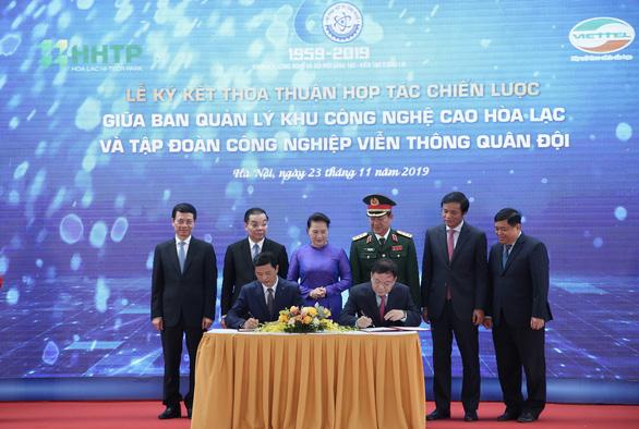 Điện thoại 5G đầu tiên ở Việt Nam sẽ sản xuất tại Hòa Lạc - Ảnh 3.
