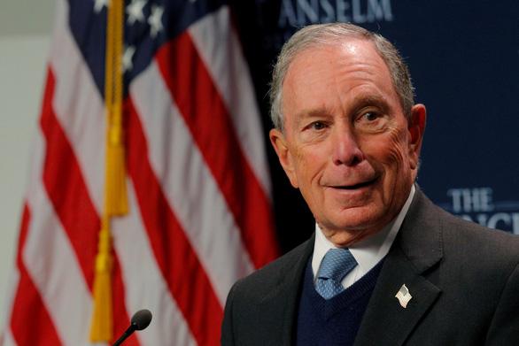 Tỉ phú Bloomberg tuyên bố tranh cử tổng thống Mỹ, đối đầu ông Trump - Ảnh 1.