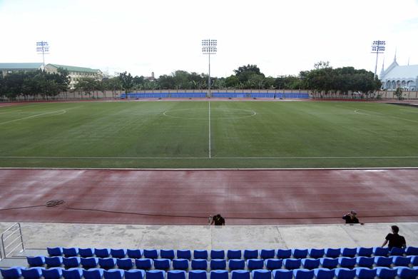Ngắm sân Binan chỉ có 3.300 chỗ ngồi mà U22 Việt Nam sẽ thi đấu - Ảnh 3.