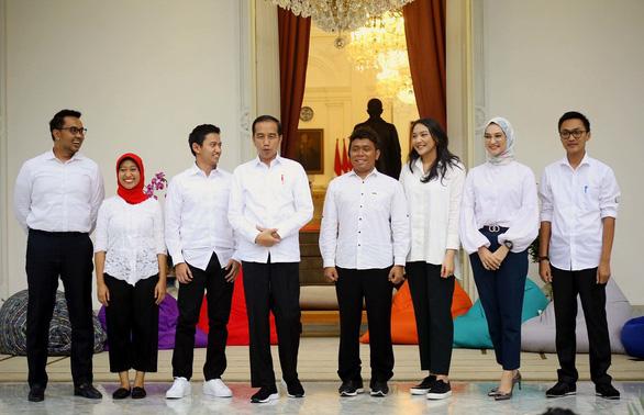 7 cố vấn đặc biệt, trẻ trung của tổng thống Indonesia - Ảnh 1.