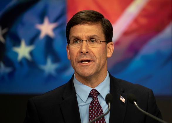 Bộ trưởng Hải quân Mỹ bị buộc từ chức vì qua mặt cấp trên - Ảnh 1.