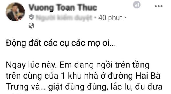 Động đất ở Cao Bằng, Hà Nội và nhiều nơi ở miền Bắc rung lắc - Ảnh 1.
