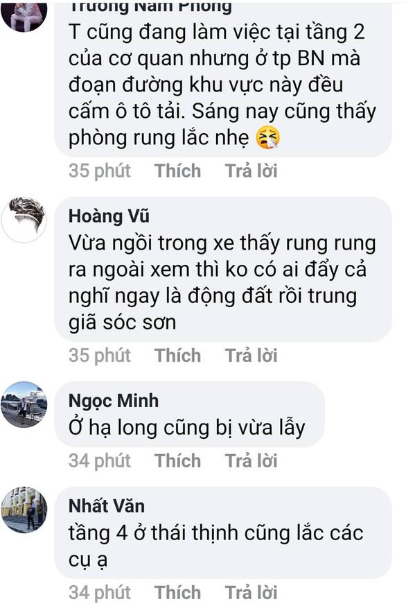 Động đất ở Cao Bằng, Hà Nội và nhiều nơi ở miền Bắc rung lắc - Ảnh 5.