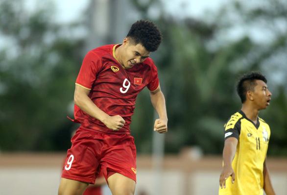 U22 Việt Nam - Brunei 6-0: Như một trận đá tập - Ảnh 1.
