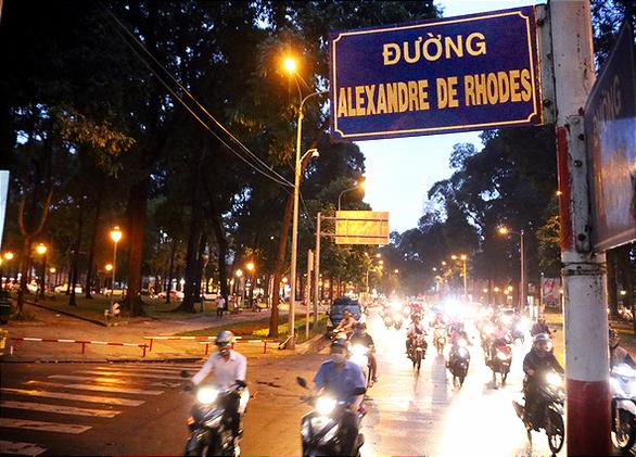 TP.HCM đặt tên đường Alexandre de Rhodes từ lâu, Đà Nẵng chưa đặt vì tranh cãi  - Ảnh 1.