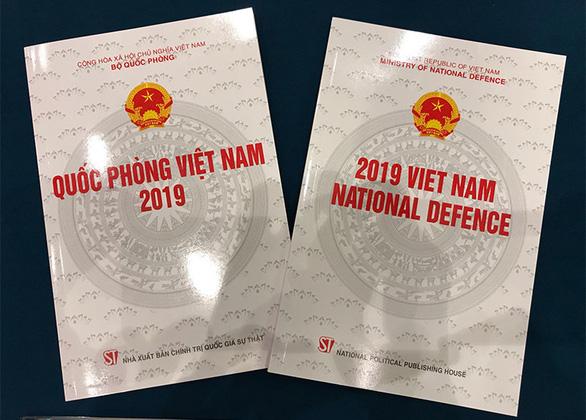 Việt Nam công bố Sách trắng Quốc phòng 2019 - Ảnh 1.