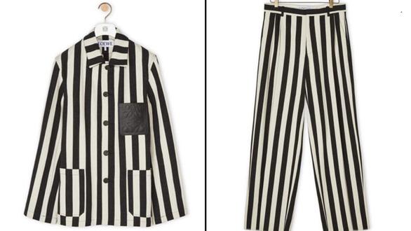 Loewe xin lỗi vì thời trang y như đồ tù... Đức quốc xã - Ảnh 1.