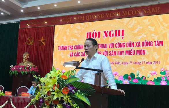 Sai phạm liên quan vụ đất Đồng Tâm (Hà Nội): Gần 30 cán bộ bị xử lý - Ảnh 1.