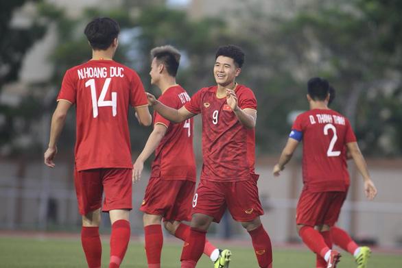 Chưa cần Quang Hải và Văn Hậu, U22 Việt Nam vẫn đè bẹp Brunei 6-0 - Ảnh 1.