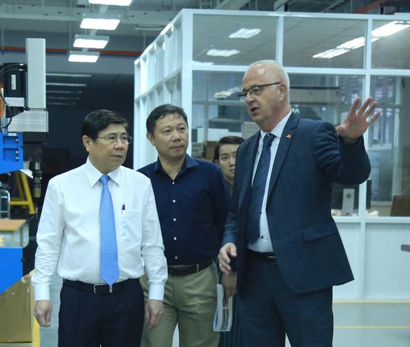 Trường Đại học Việt - Đức gần 3.200 tỉ sẽ hoạt động tháng 11-2020 - Ảnh 1.