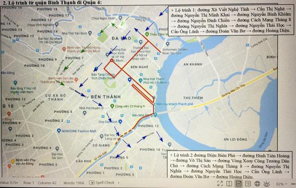 Cấm xe ra vào 8 tuyến đường lớn phục vụ giải Marathon quốc tế TP.HCM 2019 - Ảnh 3.