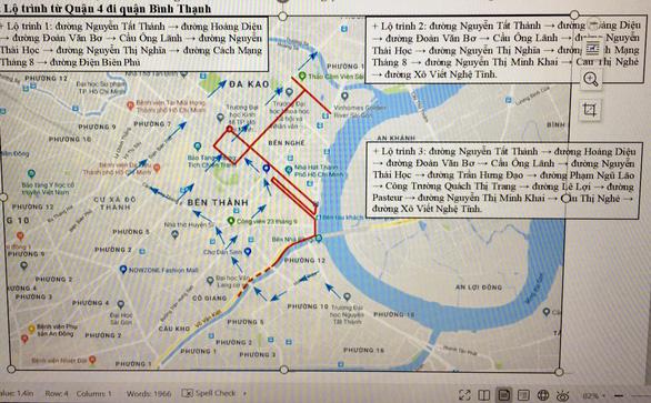 Cấm xe ra vào 8 tuyến đường lớn phục vụ giải Marathon quốc tế TP.HCM 2019 - Ảnh 2.