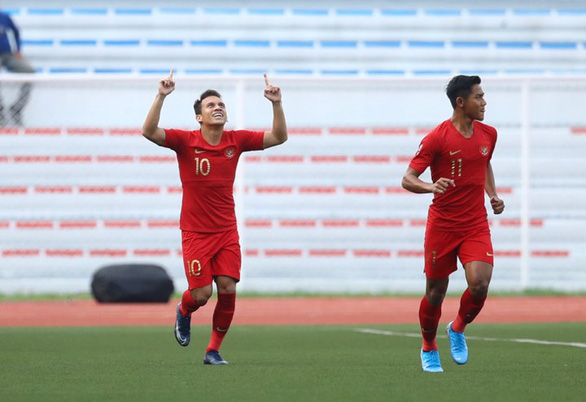 U22 Thái Lan thua Indonesia 0-2 ở trận ra quân SEA Games 2019 - Ảnh 1.