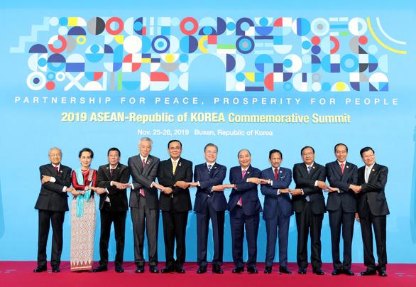 ASEAN và Hàn Quốc nâng tầm quan hệ đối tác chiến lược - Ảnh 1.