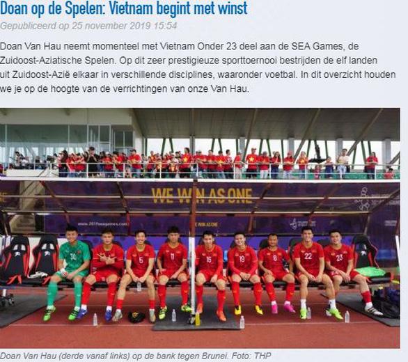 Heerenveen chúc mừng Việt Nam và khen SEA Games là giải thể thao uy tín cao - Ảnh 1.