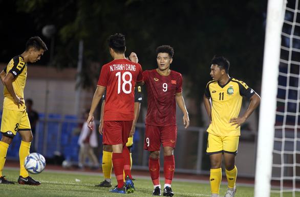 Hà Đức Chinh ghi 3 hay 4 bàn vào lưới U22 Brunei? - Ảnh 2.