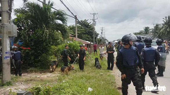 Tổ chức truy tìm, huy động cả chó nghiệp vụ song vẫn chưa tìm thấy 23 học viên trốn trại - Ảnh 1.